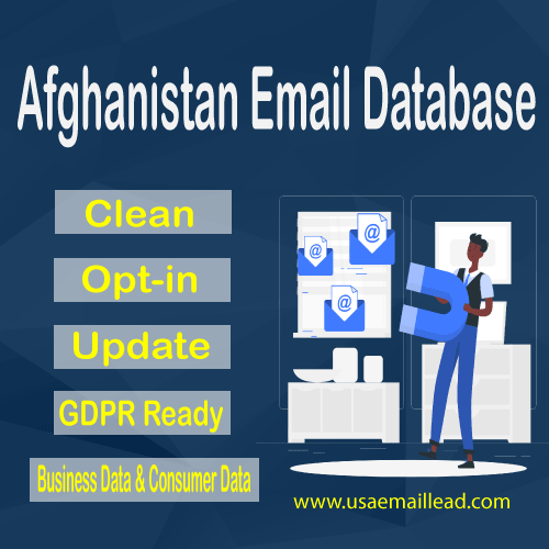 Afghanistan Email Database