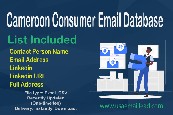 Cameroon Consumer Email Database