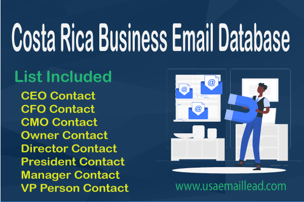 Costa Rica Business Email Database