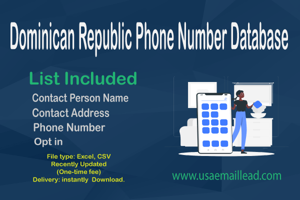 Dominican Republic Phone Number Database