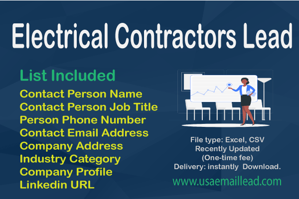Electrical Contractors Email Database