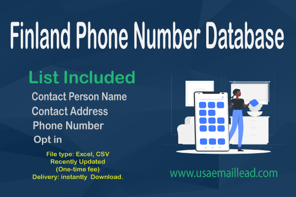 Finland Phone Number Database