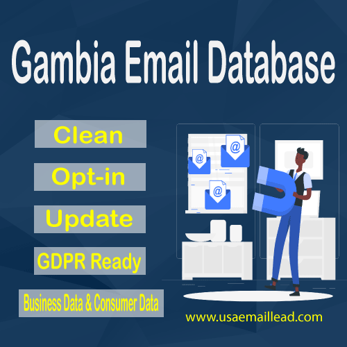 Gambia Email Database