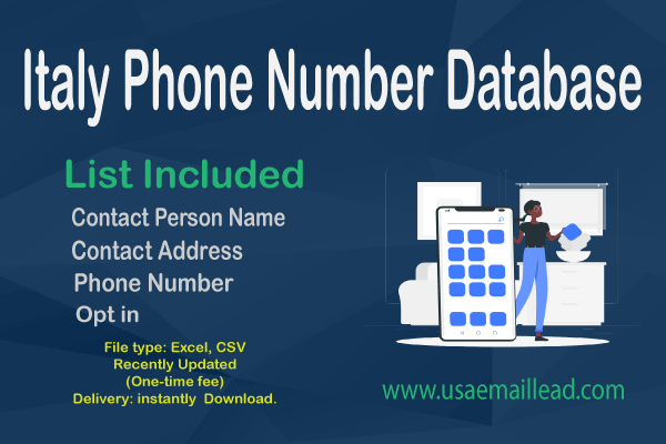 Italy Phone Number Database