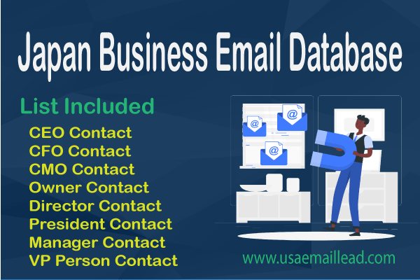 Japan Business Email Database