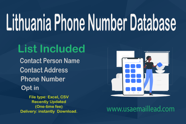 Lithuania Phone Number Database