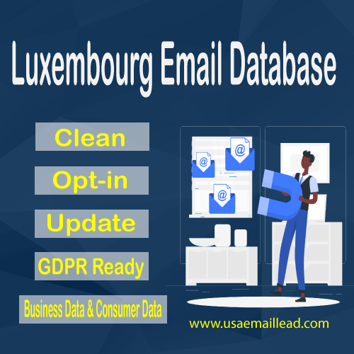 Luxembourg Email Database
