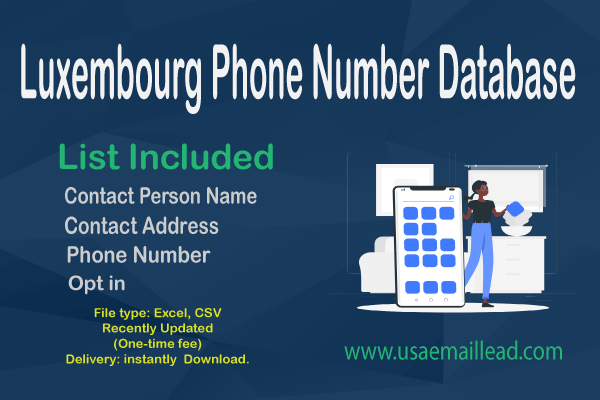 Luxembourg Phone Number Database