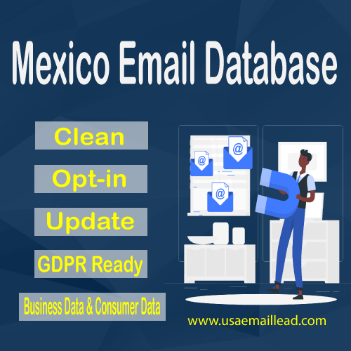 Mexico Email Database
