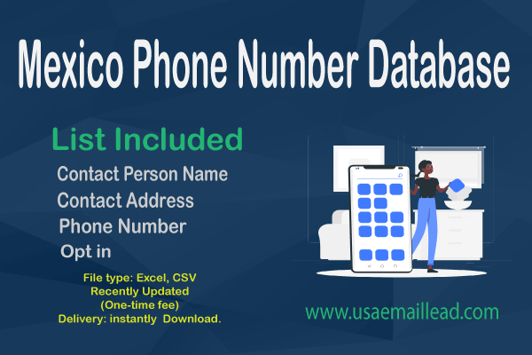 Mexico Phone Number Database