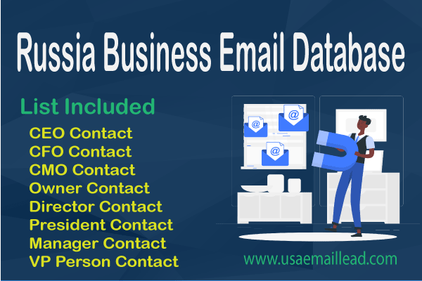 Russia Business Email Database