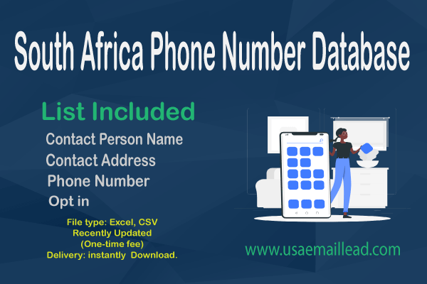South Africa Phone Number Database