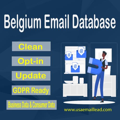 Belgium Email Database