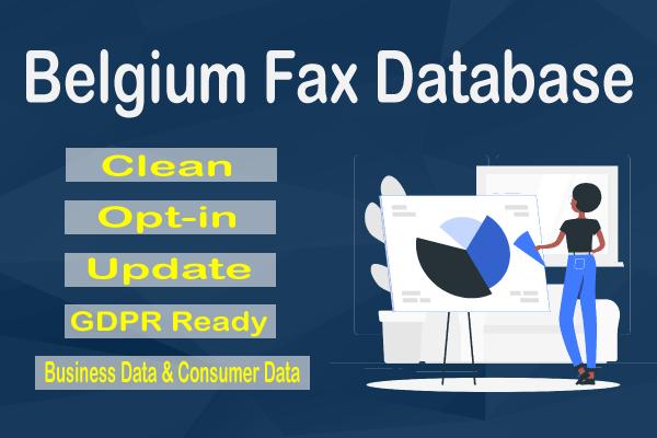 Belgium Fax Database