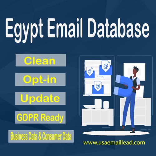 Egypt Email Database