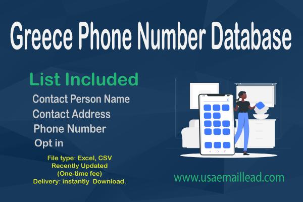 Greece Phone Number Database