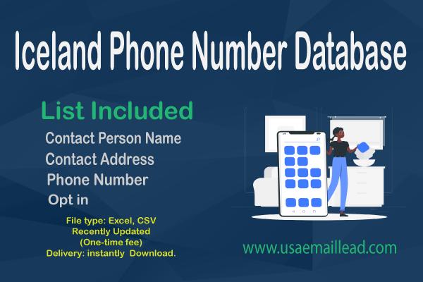 Iceland Phone Number Database
