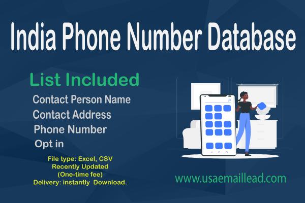 India Phone Number Database