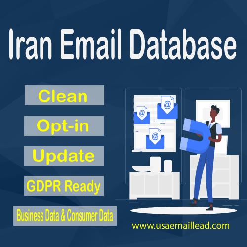 Iran Email Database