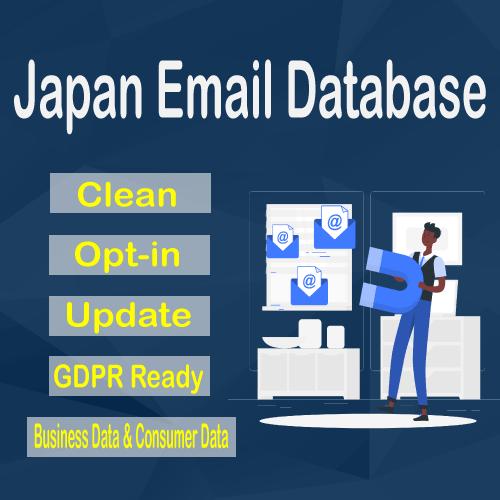 Japan Email Database