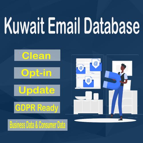 Kuwait Email Database