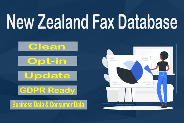 New Zealand Fax Database