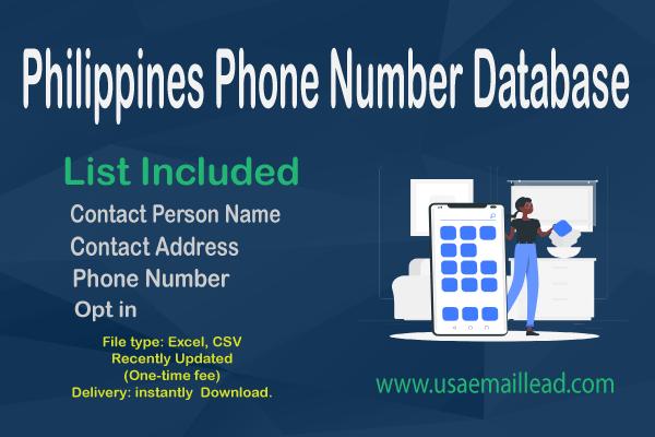 Philippines Phone Number Database