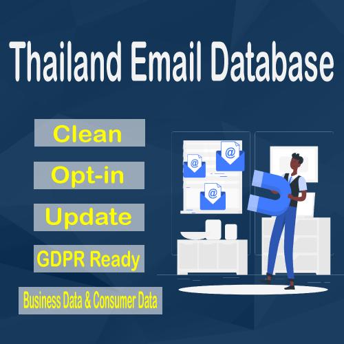 Thailand Email Database